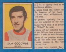 Airdrie Sam Goodwin 1970